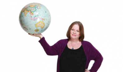 Diane May's workshops span the globe.